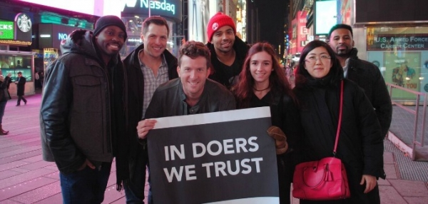In Doers We Trust: Fiverr Campaign